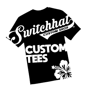 switchhat custom tees and screen printing