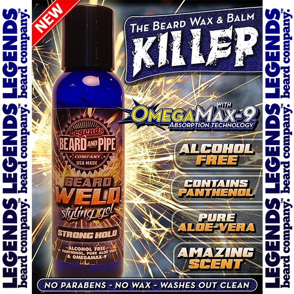 legends beard beard weld styling control supergel detail