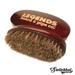 legends beard signature boar brush for beards