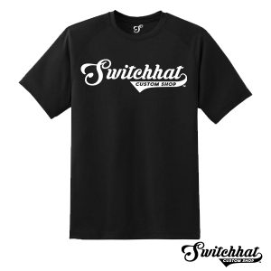 switchhat official branded tee shirt