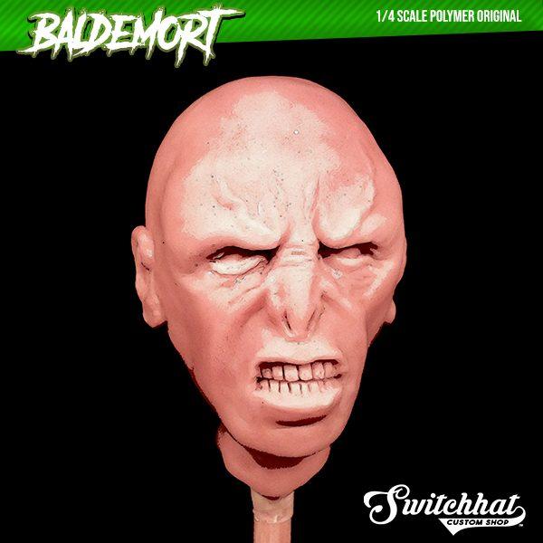 baldemort original polymer headsculpt face