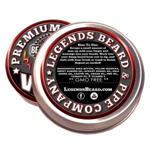 legends beard support control wax ingredients