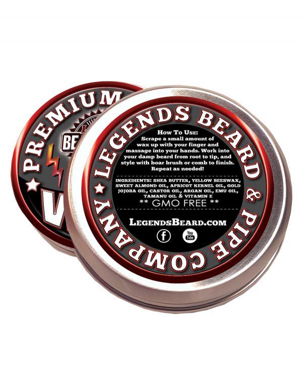 legends beard support control wax ingredients